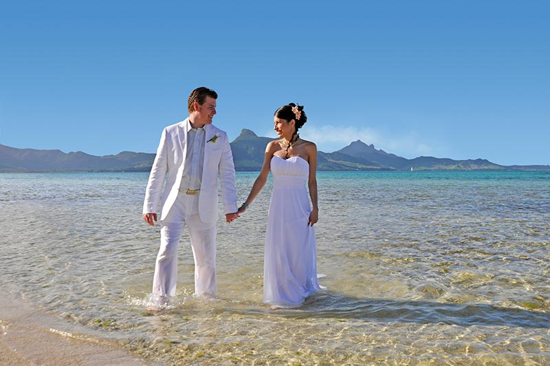 Mauritius Beach Wedding