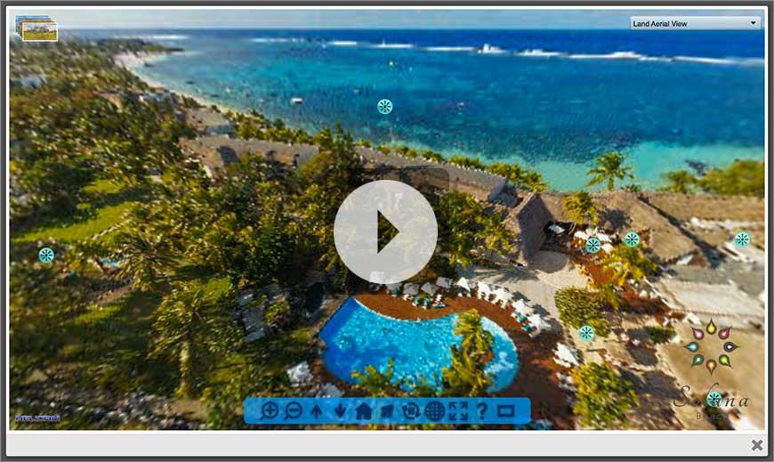Vitual Tour Solana Beach Resort Mauritius
