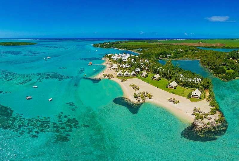 Our Hotels Aerial View 5 H Preskil Island Resort