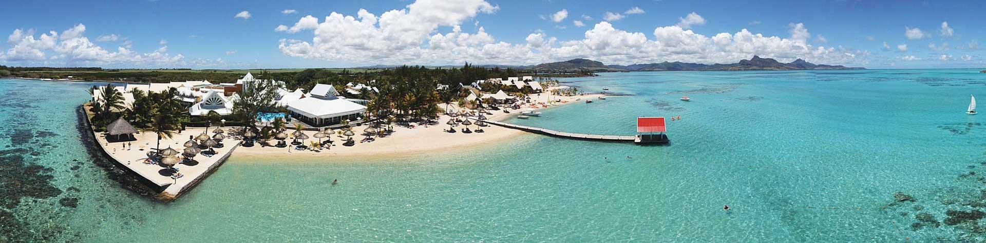 Preskil Beach Resort Aerial Photo